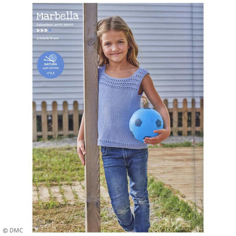 Catalogue tricot et crochet DMC - Natura 100 % coton - 12 modèles enfants - Photo n°2