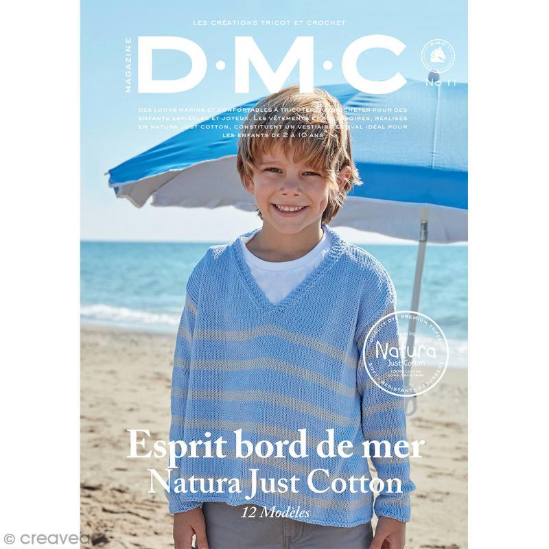 Catalogue tricot et crochet DMC - Natura 100 % coton - 12 modèles enfants - Photo n°1