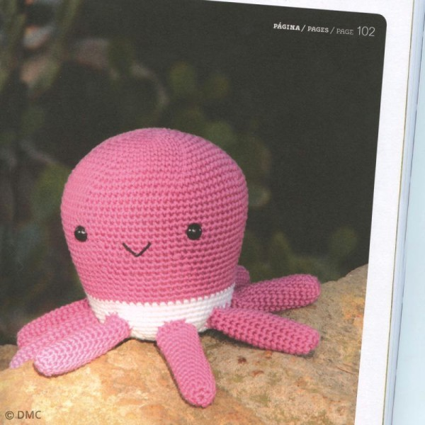 Livre crochet DMC - Ma mascotte Amigurumi - 12 modèles - Photo n°2