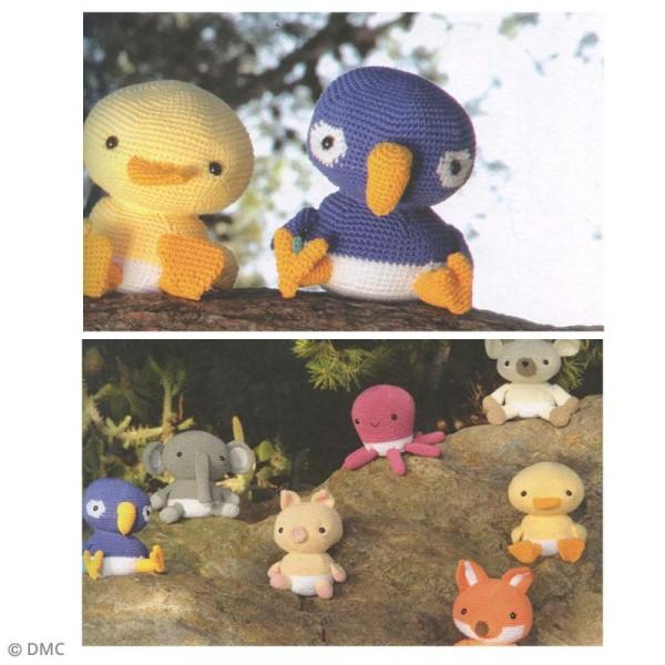 Livre crochet DMC - Ma mascotte Amigurumi - 12 modèles - Photo n°3