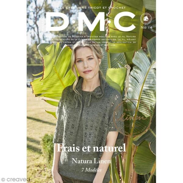 Catalogue tricot et crochet DMC - Natura 100 % lin - 7 modèles adultes - Photo n°1