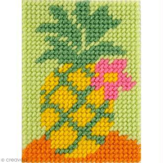 Kit canevas pour enfant - L'ananas
