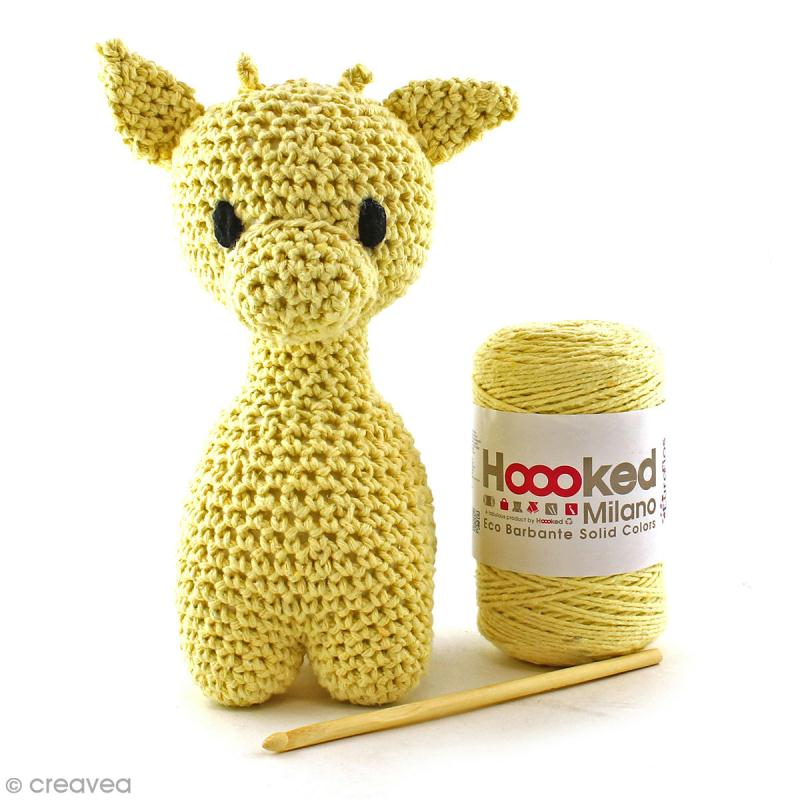 Kit crochet Amigurumi Hoooked - Ziggy la girafe - 4 pcs - Photo n°2