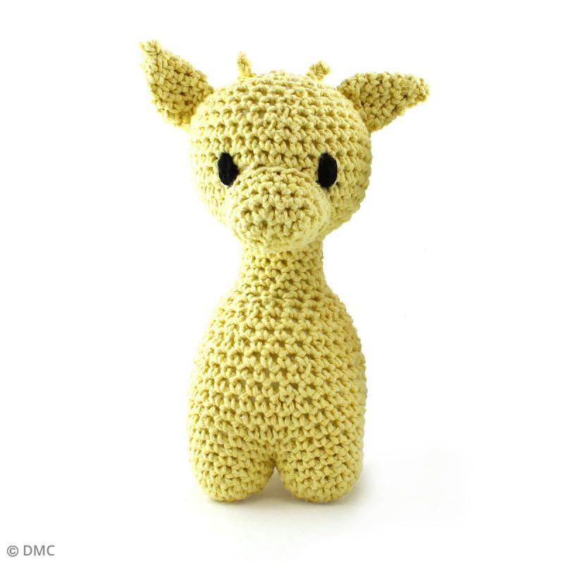 Kit crochet Amigurumi Hoooked - Ziggy la girafe - 4 pcs - Photo n°1