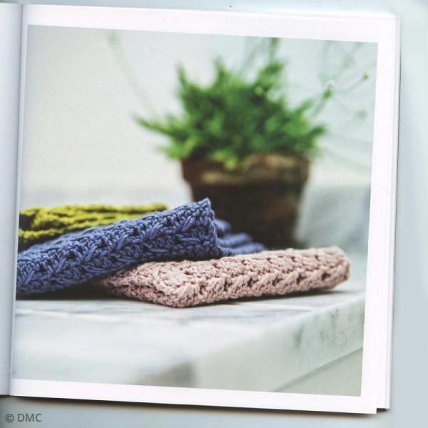 Livre - Carrés durables au crochet pour la cuisine et la salle de bain - Photo n°3