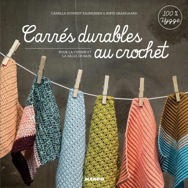 Livre - Carrés durables au crochet pour la cuisine et la salle de bain - Photo n°1