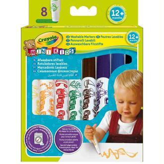 Set de 8 Feutres lavables Crayola Minikids