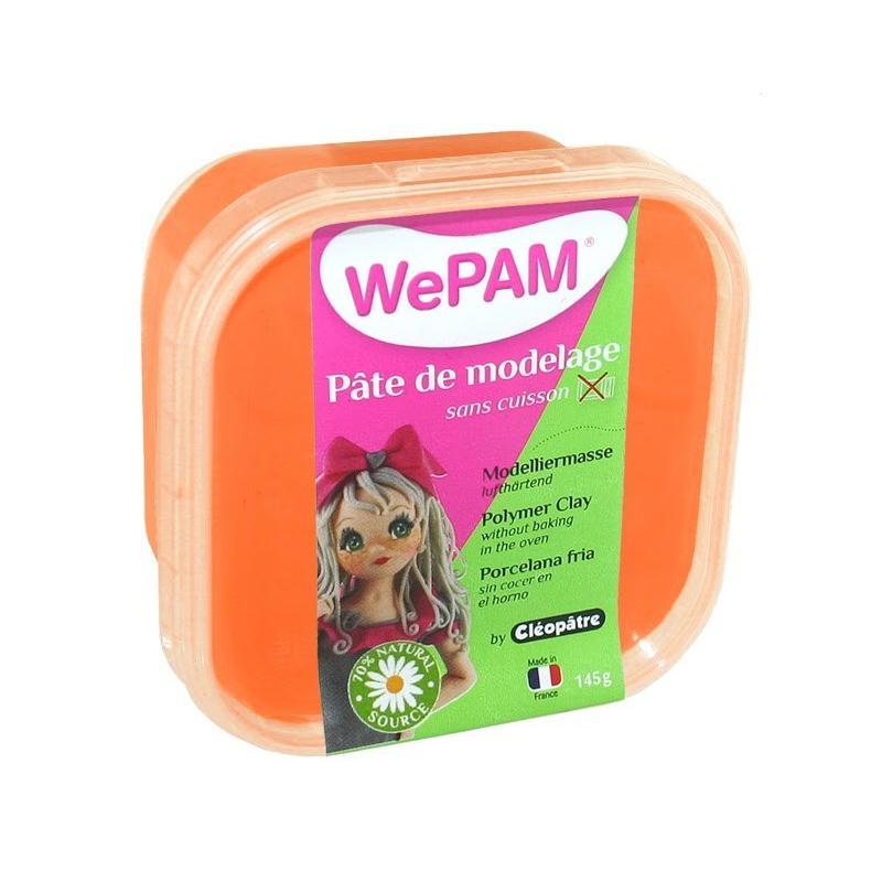 WE PAM - Porcelaine froide à modeler orange - Photo n°1