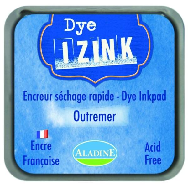 Izink Dye bleu outremer - Encreur séchage rapide - Photo n°1