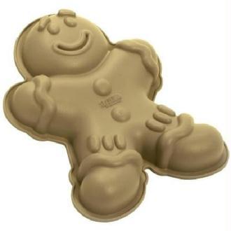 Moule en silicone doré gingerman - Mr Biscuit