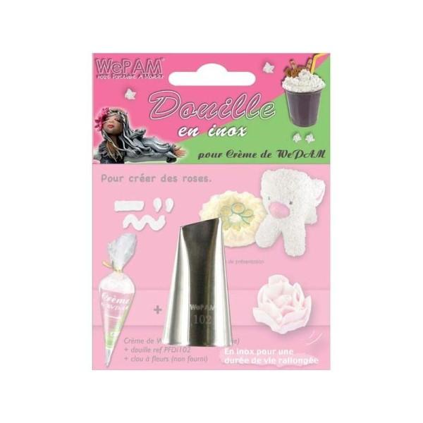 Douille inox pour crème de We Pam - Roses - Photo n°1