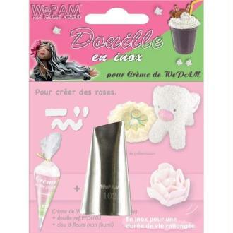 Douille inox pour crème de We Pam - Roses