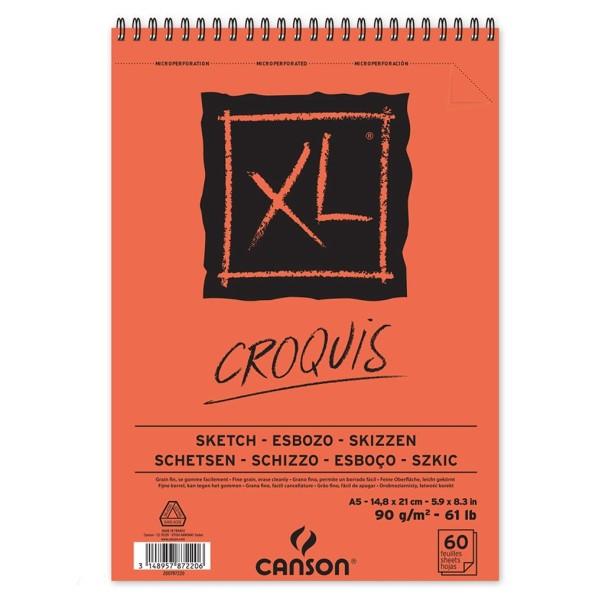 Bloc croquis XL - A5 - Photo n°1