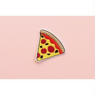 Patch Pizza, Écusson, Patch thermocollant, patch vêtement, Patch brodé