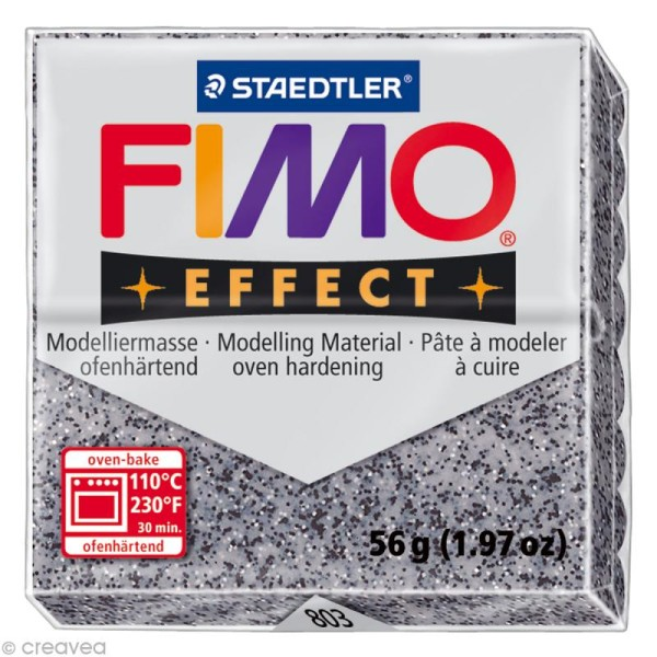Pâte Fimo Effect Granit 803 - 56 gr - Photo n°1