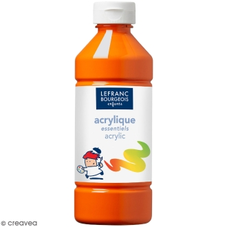 Peinture Acrylique Lefranc Bourgeois Orange 500 ML