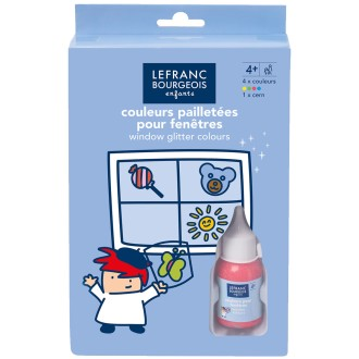 Kit window color Glitter