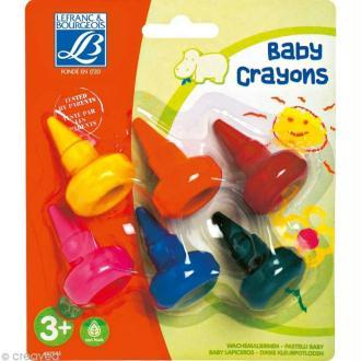 Crayon à la cire Baby- Assortiment 6 couleurs