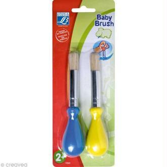 Pinceau Baby Brush - pour enfant x 2