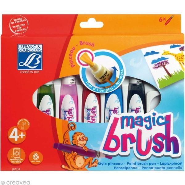 Pinceau feutre Magic brush x 6 - Photo n°1