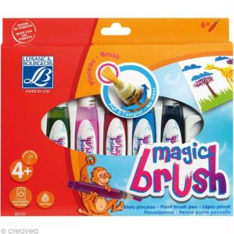 Pinceau feutre Magic brush x 6