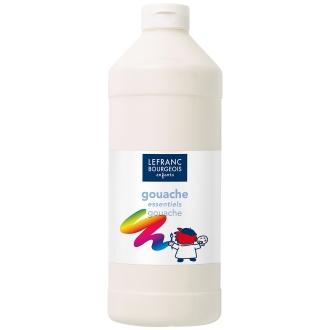 Gouache liquide Tempera Blanc 1 L