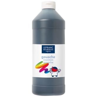 Gouache liquide Tempera Noir 1 L