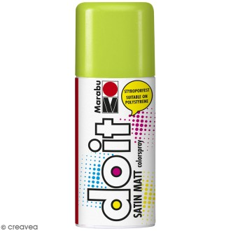 Peinture en bombe DO IT vert de mai 150 ml