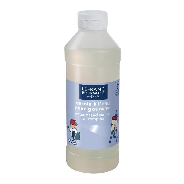 Vernis à l'eau pour gouache 500 ml - Photo n°1