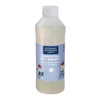 Vernis à l'eau pour gouache 500 ml