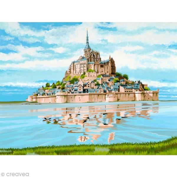 Peinture au numéro Reeves - Mont Saint Michel - Photo n°1