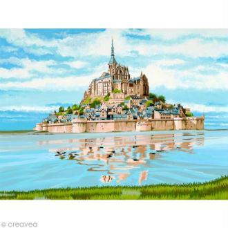 Peinture au numéro Reeves - Mont Saint Michel