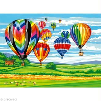 Peinture au numéro Reeves - Montgolfières