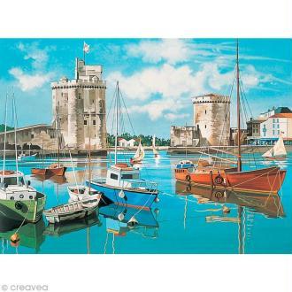Peinture au numéro Reeves - Port de la Rochelle