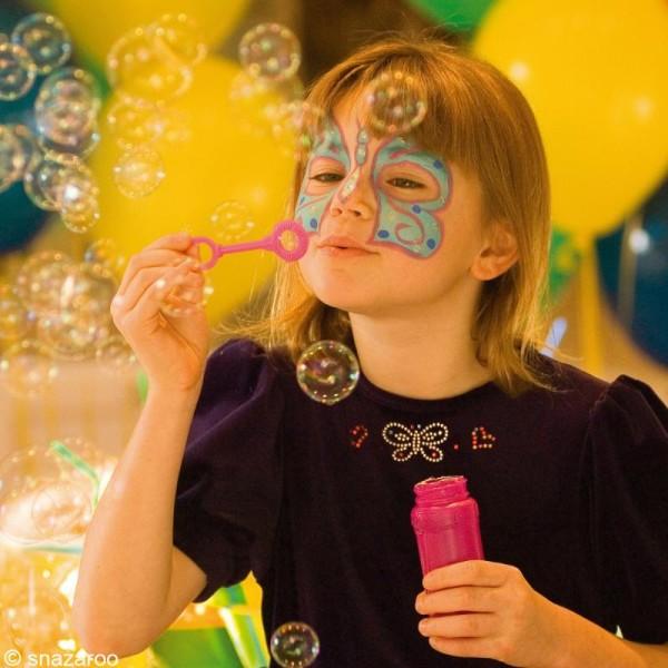 Maquillage Carnaval Fard Bleu Vif - visage et corps - 18 ml - Photo n°3
