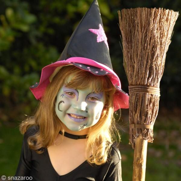 Maquillage Carnaval Fard Jaune Citron - visage et corps - 18 ml - Photo n°2