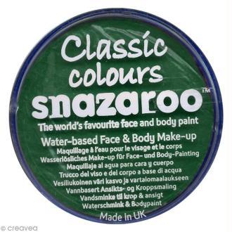 Maquillage Carnaval Fard Vert Vif - visage et corps - 18 ml
