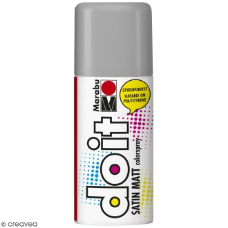 Peinture en bombe DO IT gris argent 150 ml