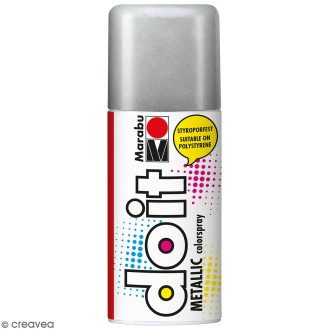 Peinture en bombe DO IT argent 150 ml