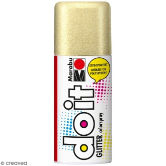 Peinture en bombe DO IT or pailleté 150 ml