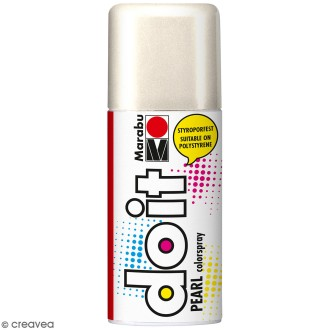 Peinture en bombe DO IT nacré blanc 150 ml
