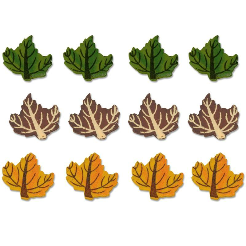 Lot 12 feuilles en bois peint formes en bois creavea for Decaper meuble peint