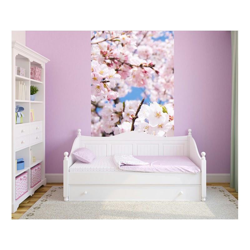 Papier peint cerisier 260 x 120 cm papier imitation - Papier peint intisse cuisine ...