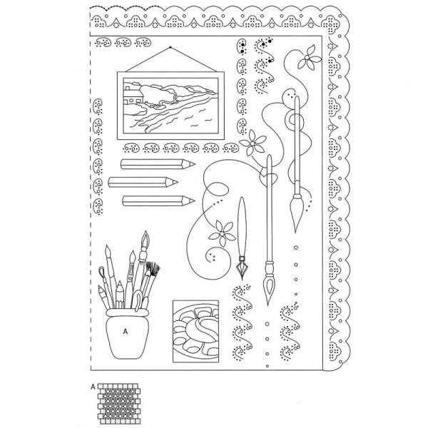 Livre de motifs Pergamano - Hobbies - 6 Patrons - M98 (82008) - Photo n°3