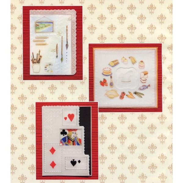 Livre de motifs Pergamano - Hobbies - 6 Patrons - M98 (82008) - Photo n°4