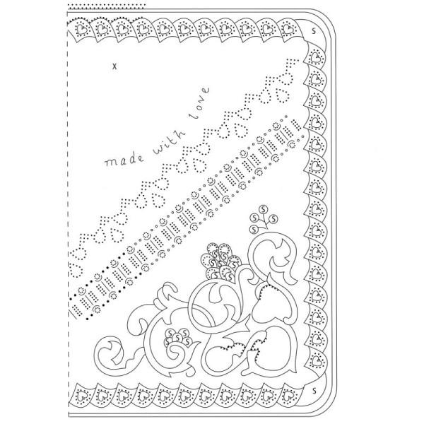 Livre de motifs Pergamano - Hobbies - 6 Patrons - M98 (82008) - Photo n°5
