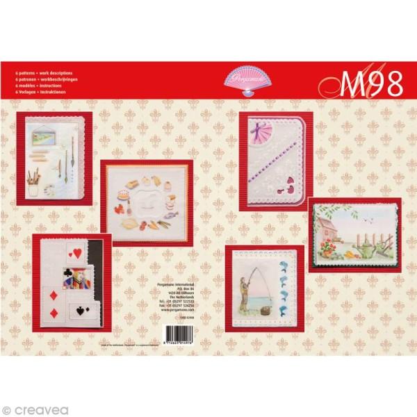 Livre de motifs Pergamano - Hobbies - 6 Patrons - M98 (82008) - Photo n°1