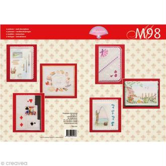 Livre de motifs Pergamano - Hobbies - 6 Patrons - M98 (82008)