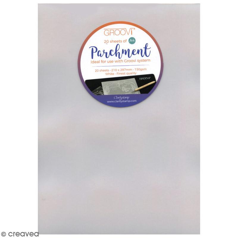 Papier parchemin pergamano a4 20 feuilles de 150 gr for Papier parchemin cuisine