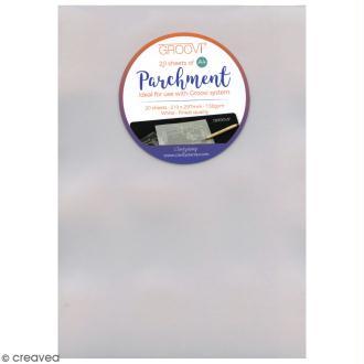 Papier parchemin Pergamano A4 - 20 feuilles de 150 Gr (61481)